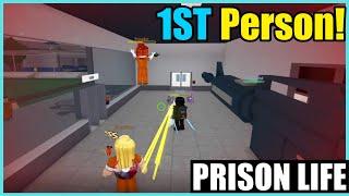 Roblox Prison Life: 1st Person Adventure