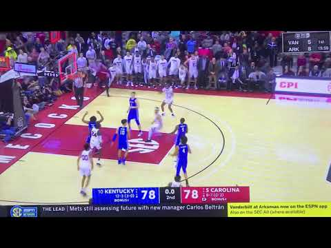 Sports Update - Gamecock Basketball Upset #10 Kentucky in Thrilling Fashion