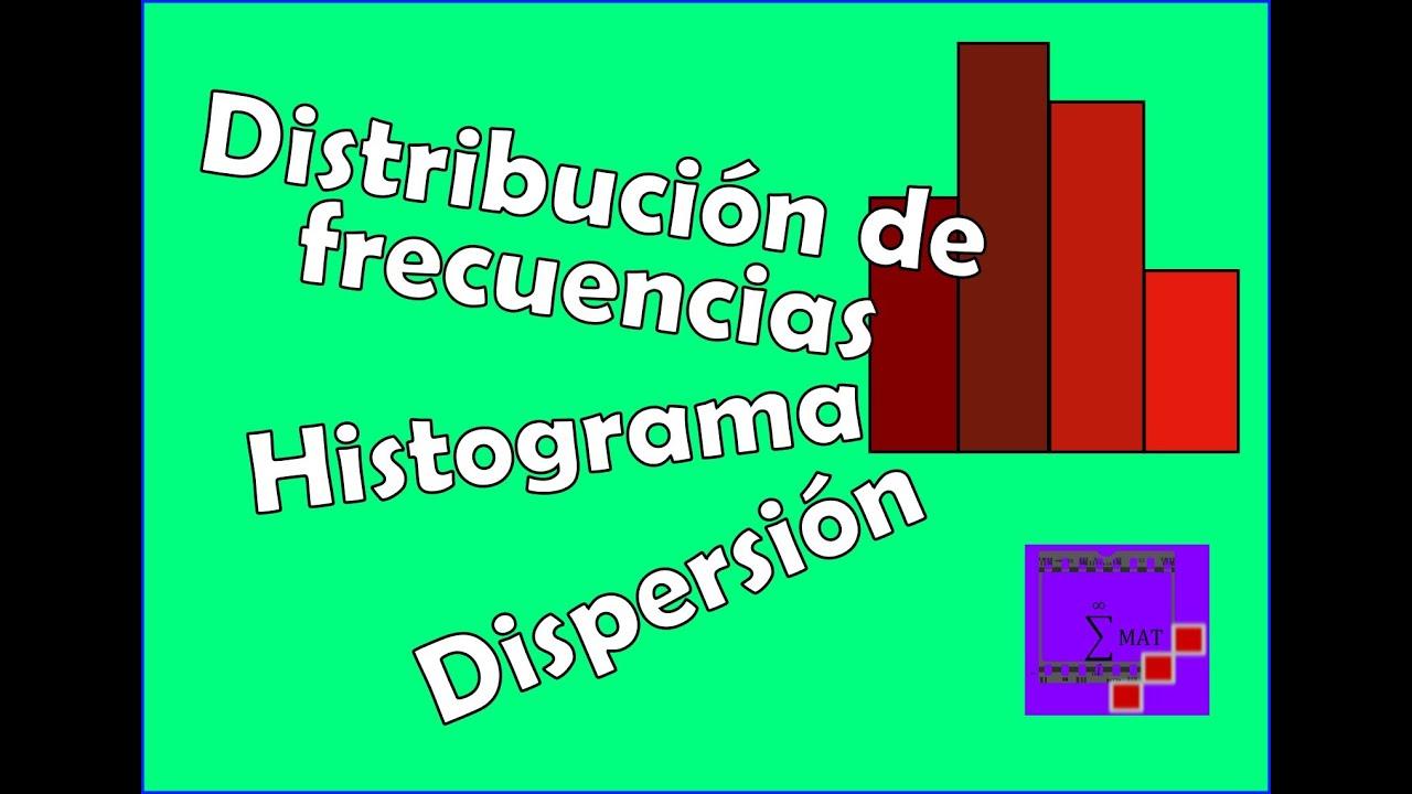 Distribucion De Frecuencias  Histograma  Y Diagrama De