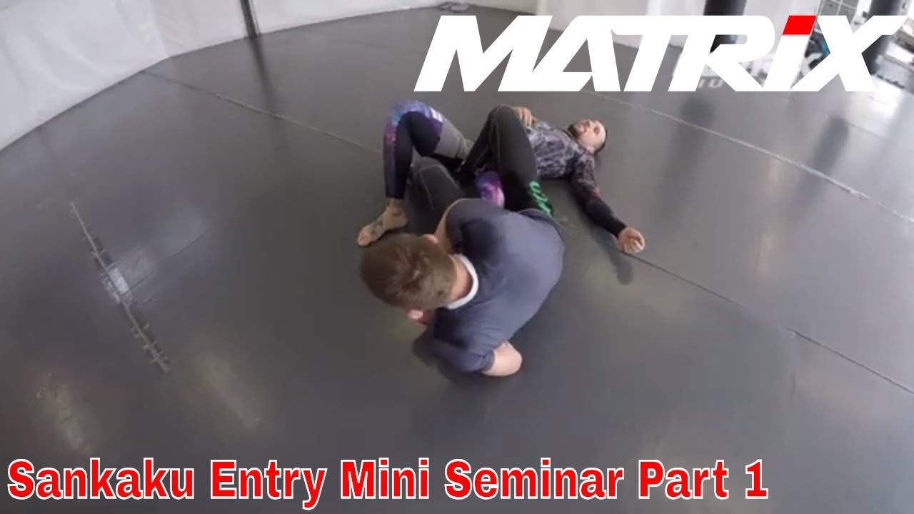 Inside Sankaku Entry´s from Butterfly Guard and Standup Mini Seminar Part 1