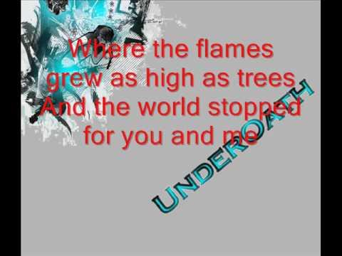 UnderOATH --- It's Dangerous Business Walking Out Your Front Door LYRICS!!!!