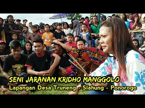 Seni Jaranan Nusantara Kridho Manggolo Desa Truneng Slahung Ponorogo