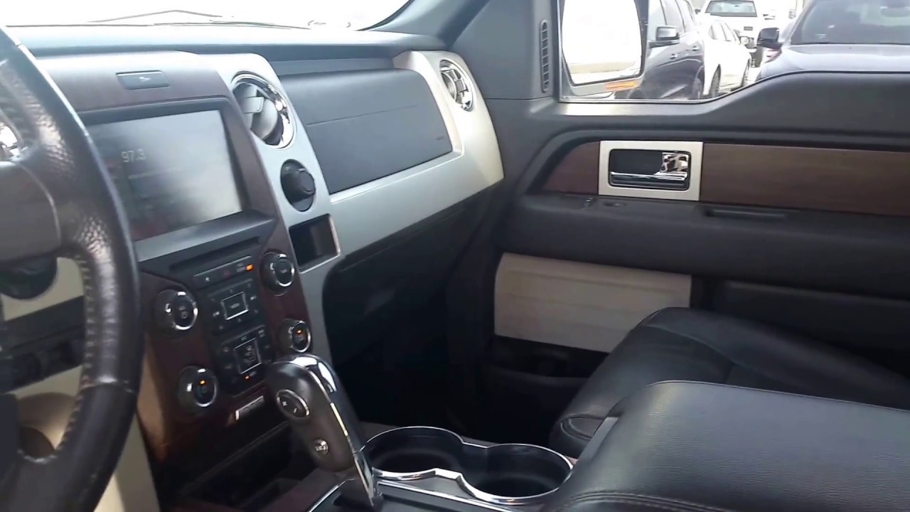 2013 ford f150 lariat interior youtube. Black Bedroom Furniture Sets. Home Design Ideas