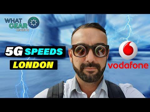 Vodafone 5G Speeds in London   Xiaomi Mi Mix 3