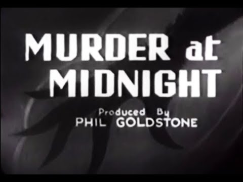 Whodunit Crime Mystery Movie  Murder At Midnight 1931