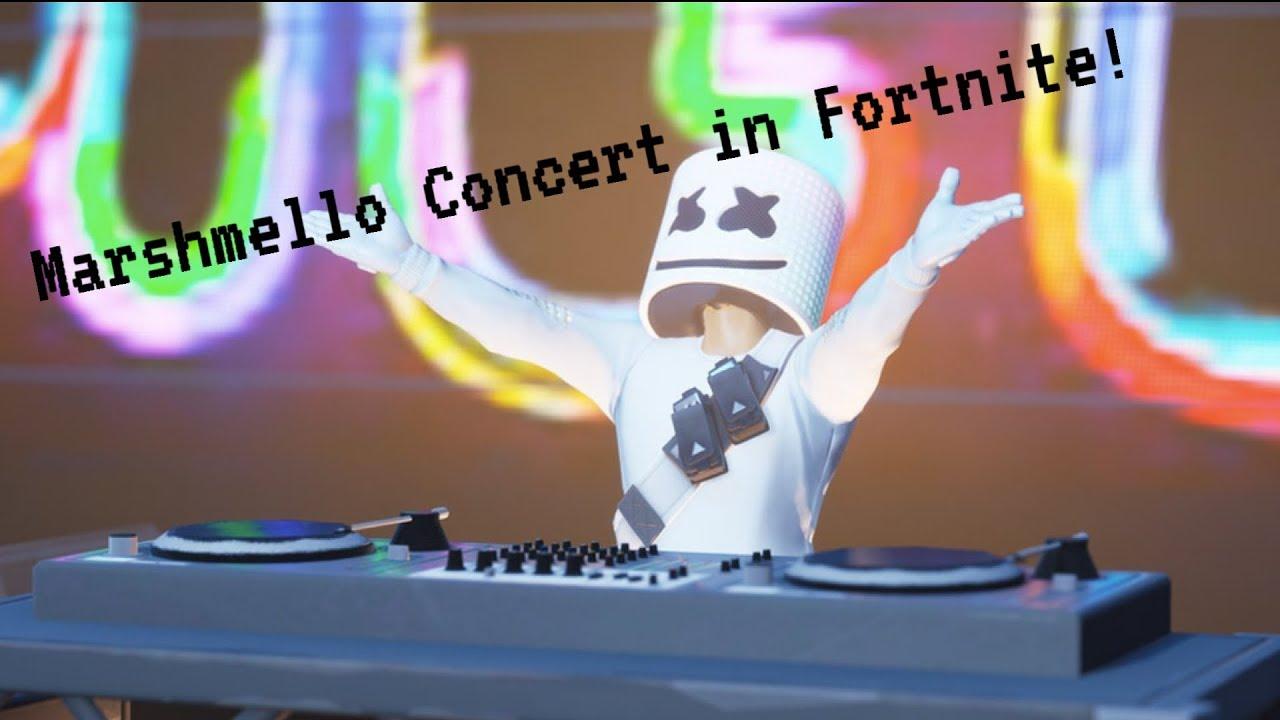Marshmello Concert in Fortnite