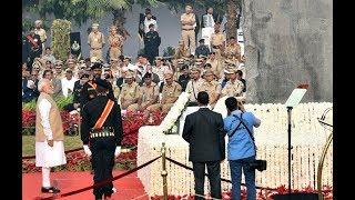 PM Shri Narendra Modi dedicates the National Police Memorial to the Nation