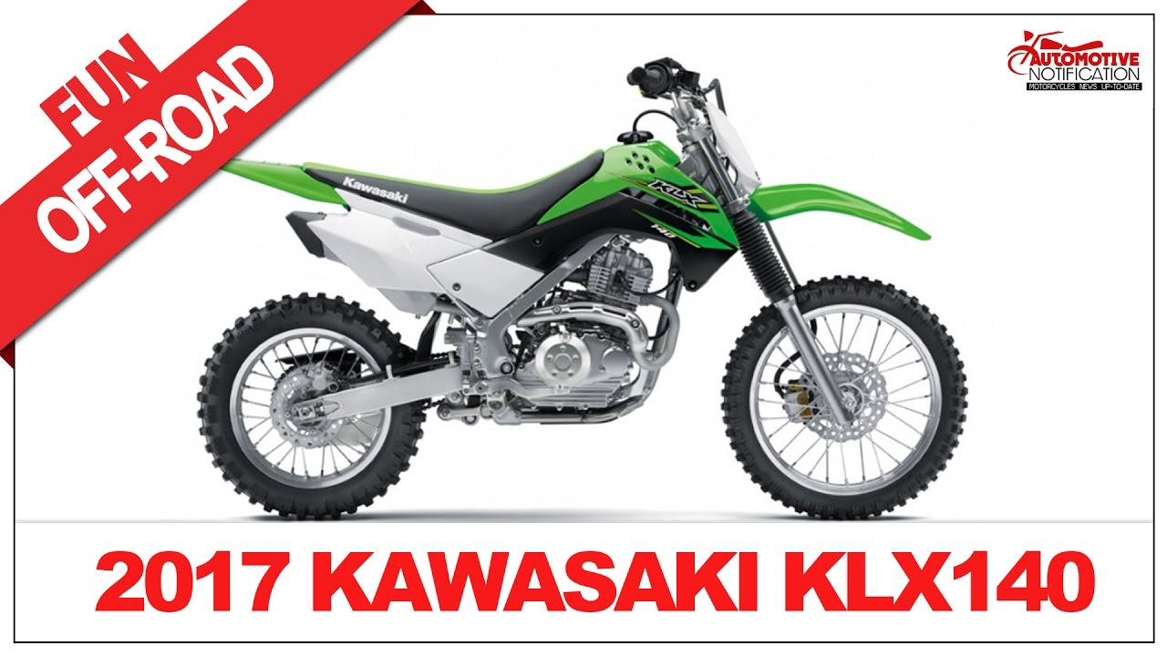 2017 Kawasaki Klx140 Price Spec Youtube