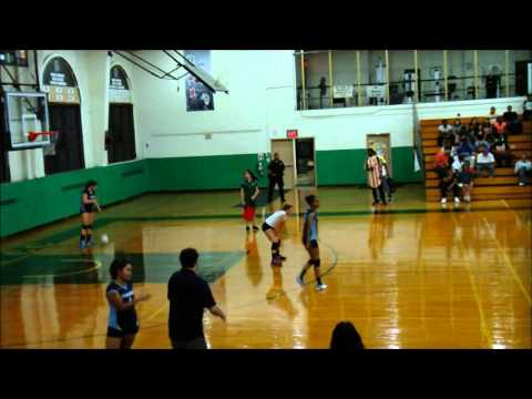 Women's Volleyball Bronx Community College BRONCOS vs Queensborough CC TIGERS @ BCC 9-24-15