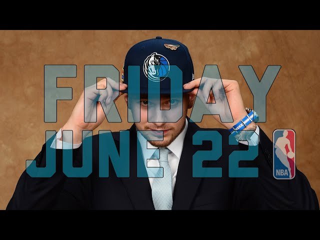 NBA Daily Show: June 22 - The Starters