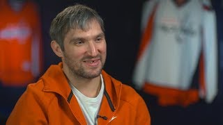 Alexander Ovechkin gets personal on 'Men in Blazers'