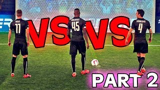 REUS vs. BALOTELLI vs. FABREGAS - evoPOWER CHALLENGE - Part 2/2