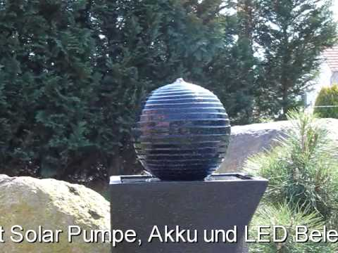 solar springbrunnen nsp4 von clgarden youtube. Black Bedroom Furniture Sets. Home Design Ideas