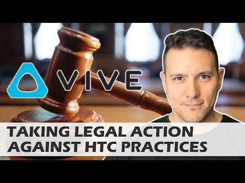 Taking Legal Action Against HTC Vive Customer Service Practices - Broken Vive ? Don't Pay Repair!