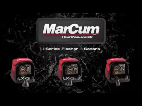 MarCum® I-Series Flasher Sonar Systems