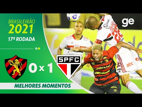 SPORT 0 X 1 SÃO PAULO | MELHORES MOMENTOS | 17ª RODADA BRASILEIRÃO 2021 | ge.globo - Видео онлайн