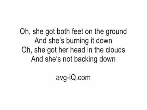 This girl is on fire lyrics free download