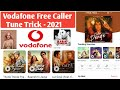 #Vodafone Free Callertunes set For life Time With Live Proof In Hindi
