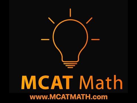 The #1 MCAT Math Tip – mcatmath