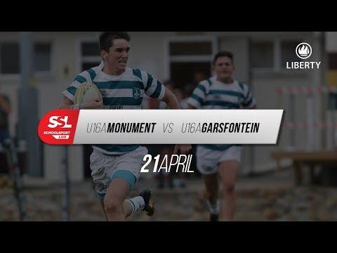 Monument U16A vs Garsfontein U16A, 21 April 2018