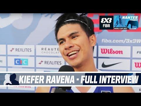 Philippines' Kiefer Ravena - Full Interview - FIBA 3x3 World Cup 2017