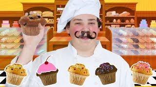 The Muffin Man |  Little Wiggles Nursery Rhymes | WigglePop