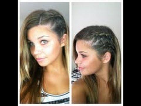 2 side braids half shaved look hair tutorial youtube 2 side braids half shaved look hair tutorial ccuart Choice Image