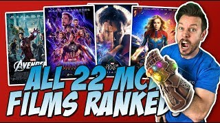 All 22 MCU Movies Ranked Worst to Best (w/ Avengers: Endgame Review)