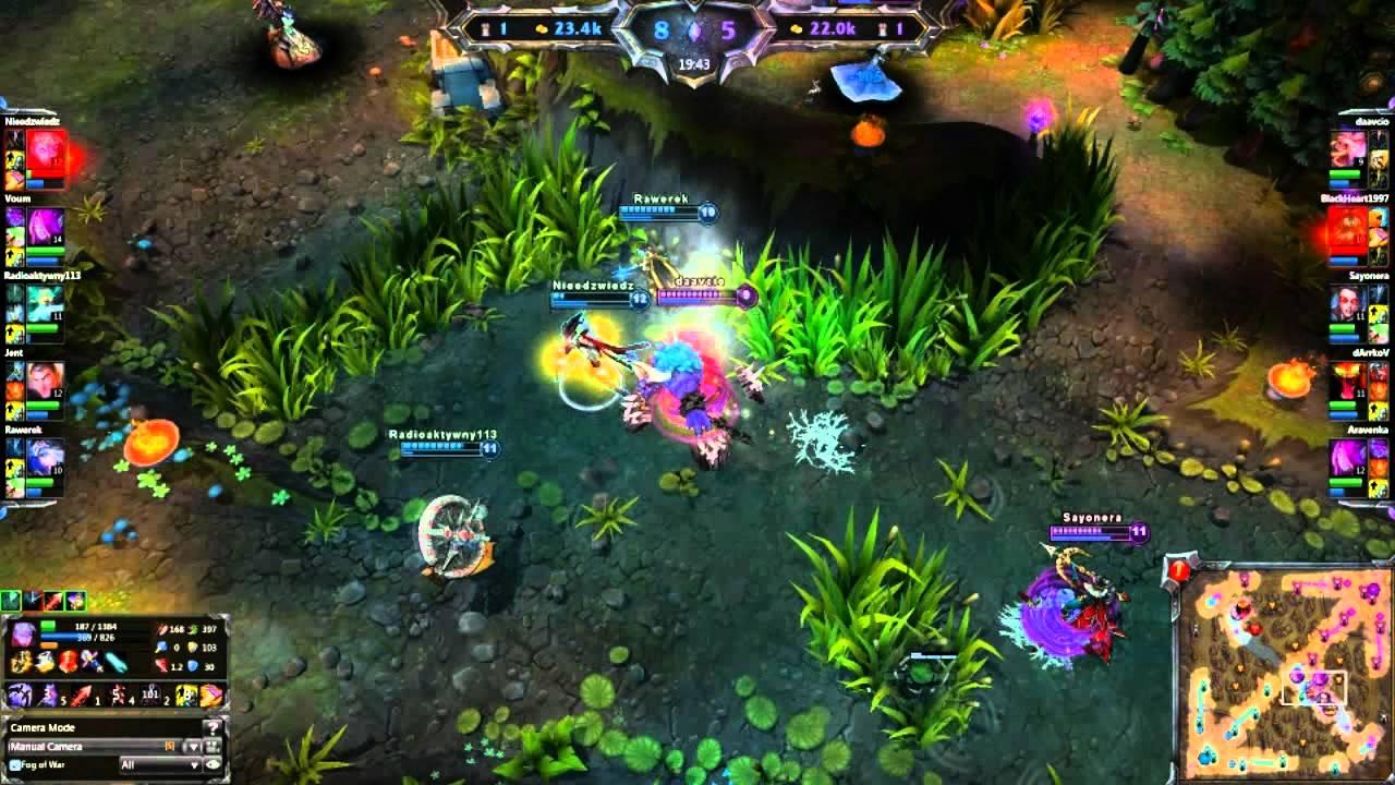 League of Legends - Gameplay PBE Morgana Sup Pré-Season 6