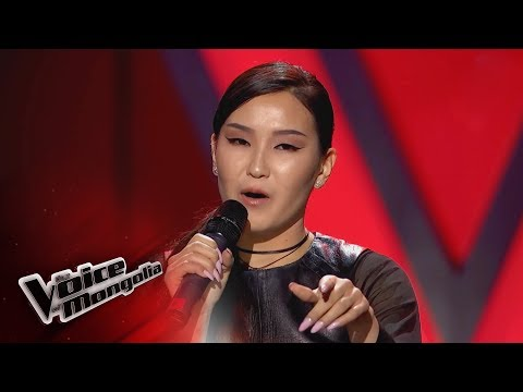 """Buyangerel.E - """"Only Love Can Hurt Like This"""" - Blind Audition - The Voice of Mongolia 2018"""