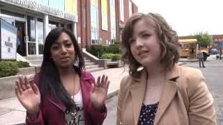 Degrassi 12 BTS: Aislinn Paul & Melinda Shankar