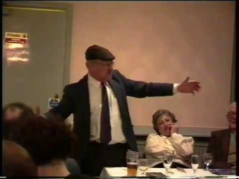 UDMES Annual Dinner 1993, Guest Speaker Fred Dibnah
