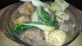 Nilagang Baka (beef Stew Filipino Style)