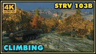 World of Tanks | Climbing - Strv 103B - 10 Kills - 10,1K Damage Gameplay