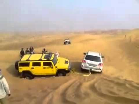 Land cruiser vs hummer h2 - YouTube