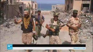 القوات الحكومية الليبية تسيطر على حي المنارة في سرت
