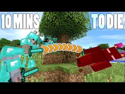 10 MINUTES TO DIE CHALLENGE !! // Minecraft