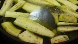 Eggplant ~ Blanching/Freezing