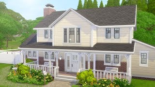 FAMILY FARM HOUSE // The Sims 4: Speed Build
