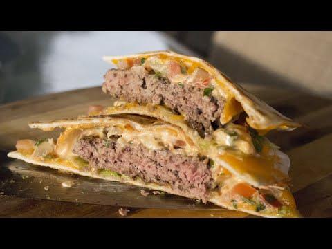 Mexican Quesadilla Burger Recipe