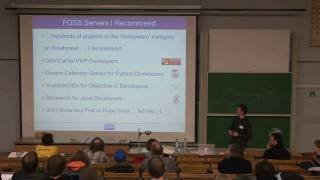FOSDEM 2009 CalDAV - the open groupware protocol