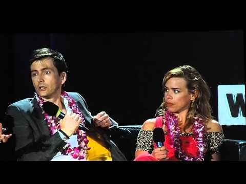 20160402 WizardWorld StLouis David Tennant and Billie Piper QA