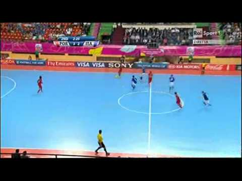 Portiere di Movimento Portogallo - Italia, FIFA Futsal World Cup 2012 Thailandia