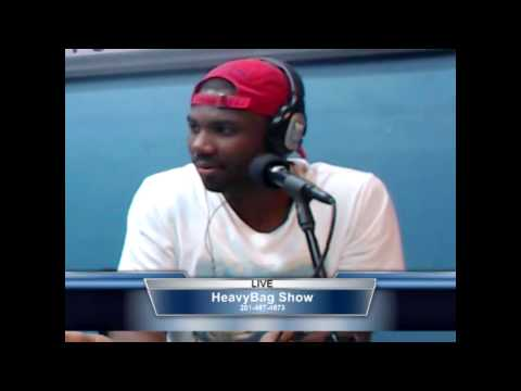 AMG talks Struggles of Trenton NJ, Hollywood Rappers, and Unity of New Jersey #HeavyBagShow