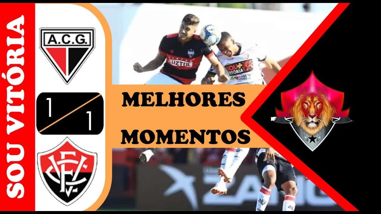 Atlético - GO 1 X 1 Vitória | (HD) Melhores Momentos | Brasileirão série B