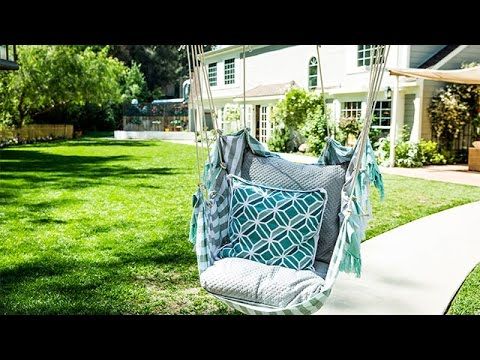 DIY   DIY Hanging Chair   Home U0026 Family