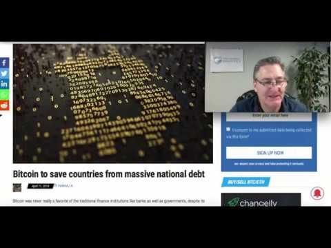 Bitcoin: Saving Countries With Massive National Debt