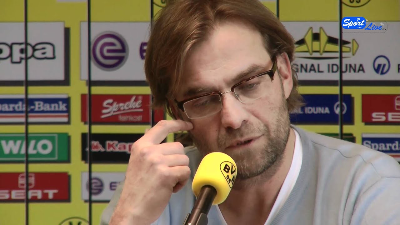 FC Augsburg - Borussia Dortmund : Pressekonferenz von Borussia Dortmund ( Teil 1 )