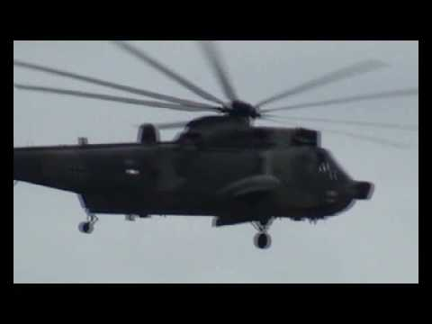 Westland Sea King Mk. 41 Fly By at Rostock-Laage