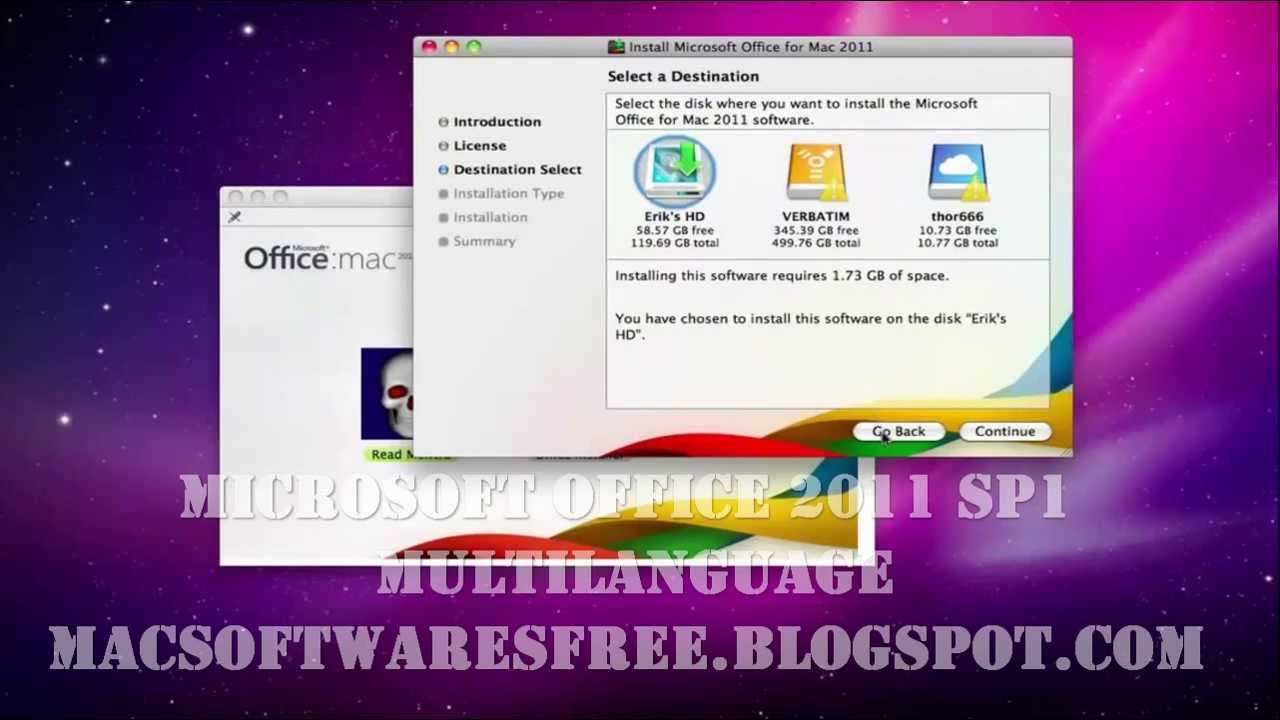 Microsoft office 2011 mac free download sp1 multilanguage full version youtube - Download office for mac free full version ...